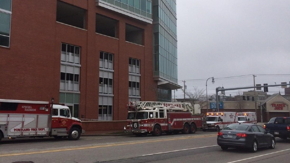 InterMed building evacuated in Portland due to carbon